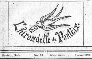 Hirondelle de Ponteix