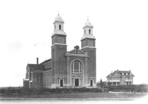 La cathédrale de Gravelbourg
