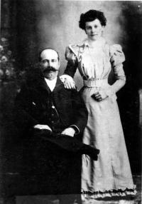 Aicide Marcotte et Rosalie Peccaud