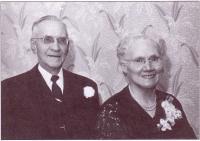 Antoine-Joseph Berthiaume et son épouse agnès Joyal