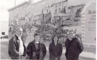 Blaine Coleman et Gloria Tremblay de Whitewood avec Esther Jacob et Laurier Gareau