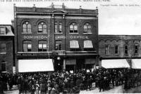 Bureau des terres du Dominion à Moose Jaw