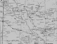 Carte de la région de Paradise Hill