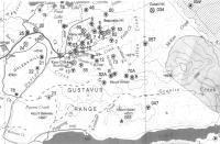 Carte de la région des buttes galena au Yukon
