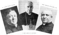 Cette photo des trois fondateurs du collège Mathieu