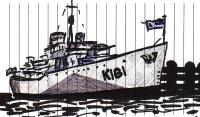 dessin d'un contre-torpilleur