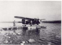 Embarcation de chiens à Stony Rapids