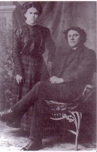 Emma et Robert Léveillé