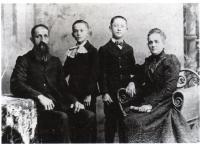 Ernest Gaudet et sa femme