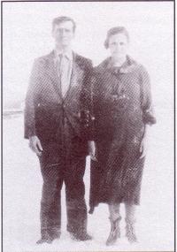 Eugène Gaudet et Laura Rock
