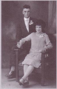 Gédéon et Eva Chalifour à l? occasion de leur marriage