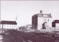 L'église et le couvent de Saint-Maurice de Bellegarde