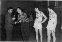 L?équipe de basketball du Collège Mathieu