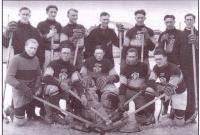 L?équipe de hockey du collège Mathieu