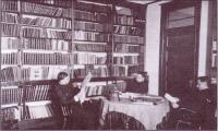 La Bibliothèque servait souvent de lieu de rencontre