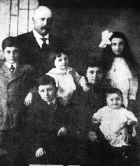 La deuxième famille de Léon Denis et Fernande Lafarchoux