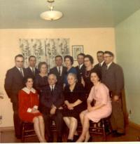 la famille au complet de Clotaire Denis