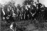 La famille d'Azarie Gareau