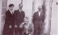 La famille de comte de Roffignac