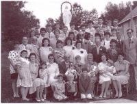 La famille de Gédéon et Eva Chalifour