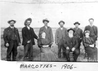 La famille de Joseph-Alexandre Marcotte