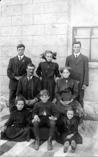 La famille de Philippe Chamberland