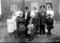 La famille Joseph Fournier et Philomène Bégin