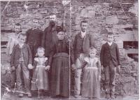 La famille Puech vers 1900