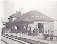La gare d?Antler