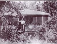 La vieille chapelle au camp Villa-Maria