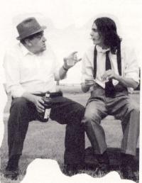Laurier Gareau et David Granger
