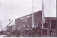 Le garage d?Henri Berand à Hoey