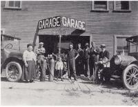 Le garage de Kilien Revet à Forget