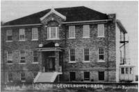 Le premier édifice du Collège Mathieu