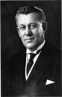 Le premier ministre conservateur, J.-T.-M. Anderson
