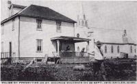 Le Premier presbytère de la Paroisse St-Maurice