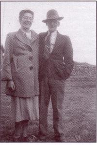 Léa Gaudet et son mari