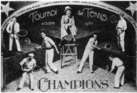 Les champions du «Tournoi de Tennis»