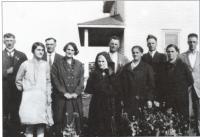 Les enfants d'Edmond Gaudet et Delvina Lepage