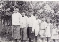 Les enfants de Lionel LeBlanc et Adèle Lizée