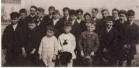 Les garçons du couvent St-Maurice