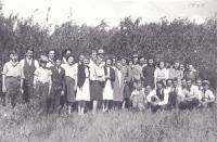 Les membres du Club paroissial de Saint-Denis