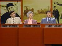 Les t finalistes de la saison 1983-1984 du jeux questionnaire Tour à tour