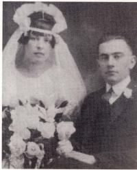 Lionel LeBlanc et son épouse, Adèle Lizée