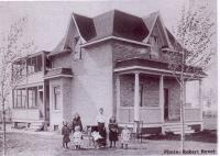 Maison de Auguste Thiévin au village de forget