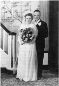 Mariage de Gustave Baudais et d'Henriette Ménard