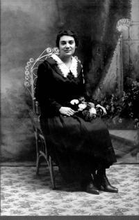 Marie-Anne Hamel vers 1910