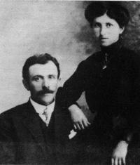 Marie Denis et Jules Haudegand