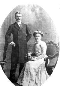 Marie-Éveline Blanchette et Joseph-Charles Blais