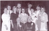 Maurice et Léa Pelletier et leurs neuf Enfants